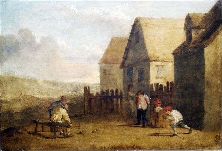 Bowling In The 17th Century